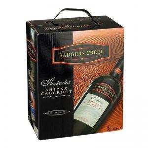 Vang Uc Badger Creek Shiraz Cabernet Bich 3l