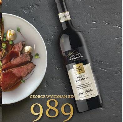 George Wyndham Bin 989 1