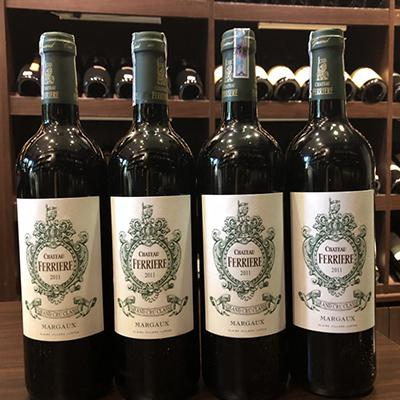 Vang Chateau Ferriere 2011