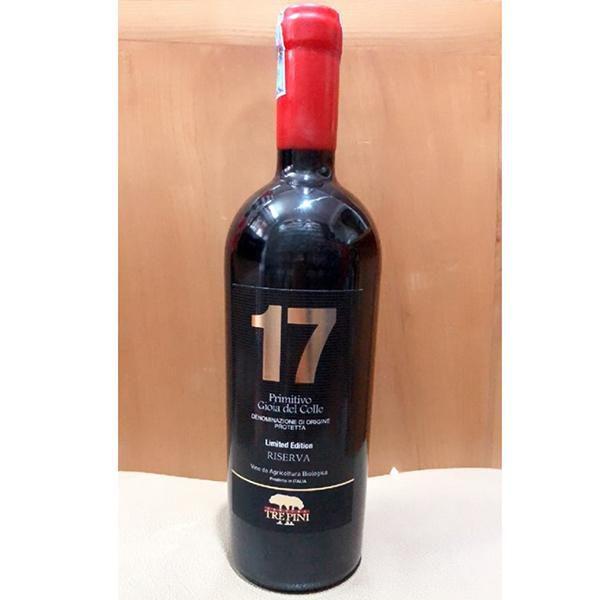 Rượu Vang Ý 17 PRIMITIVO GIOIA DEL COLLE - Siêu thị rượu vang nhập ...