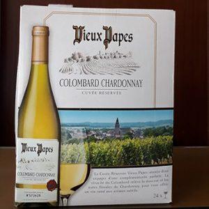 Vang Bịch Pháp Vieux Papas Colombard Chardonnay