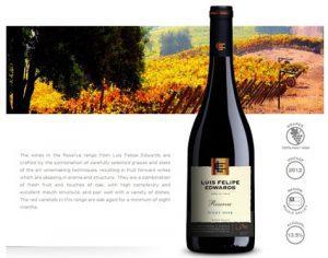 Vang Chi Lê Luis Felipe Edwards Reserva Pinot Noir Qc
