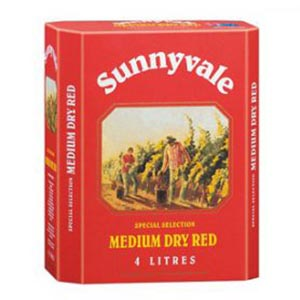Vang Bịch úc Sunnyvale Golden Gate Dry Red
