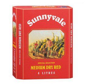 Vang Bịch úc Sunnyvale Golden Gate Dry Red
